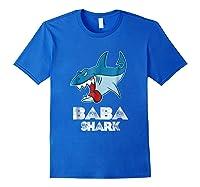 Baba Shark Shirts Royal Blue