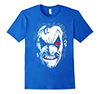 Lobo In Lo Face T-shirt Royal Blue