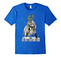 Knights Of The Teutonic Order Shirts Royal Blue