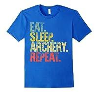 Eat Sleep Repeat Gift Shirt Eat Sleep Ary Repeat T-shirt Royal Blue