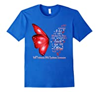 Am The Storm Wolff Parkinson Syndrome Butterfly Shirts Royal Blue