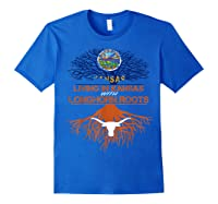 Texas Longhorns Living Roots Apparel Shirts Royal Blue