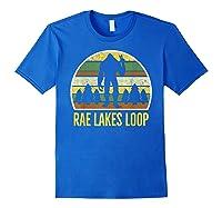 Rae Lakes Loop Shirt, Rae Lakes Loop T-shirt Royal Blue