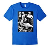 Twilight Zone About To Enter Another Dision Shirts Royal Blue