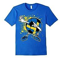 Dabbing Sweden Soccer Tshirt For Football Tee Royal Blue
