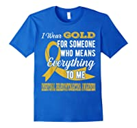 Means Everything Embryonal Rhabdomyosarcoma Shirts Royal Blue