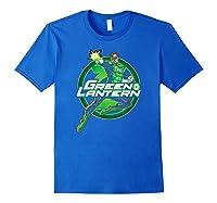 Green Lantern Glow Shirts Royal Blue