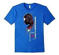 Spider Man Miles Morales Specs Shirts Royal Blue