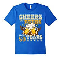 Funny Beer Drinking 1969 T Shirt 50th Birthday Gifts Royal Blue