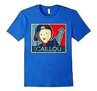Caillou T Shirt Royal Blue