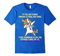 Unicorn Childhood Hemiplegia Awareness For T-shirt Royal Blue