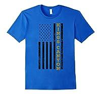 Kings Canyon National Park Souvenir Gift T-shirt Royal Blue