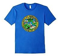 Sacrato California City Seal I Love Sacrato Pride Shirts Royal Blue