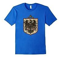 German Imperial Eagle Shirts Royal Blue