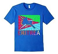 Eritrea Map Eritrean Shirts Royal Blue