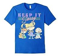 Nickelodeon Rugrats Angelica Keep It Sassy Shirts Royal Blue