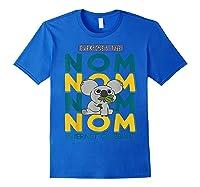 We Bare Bears Nom Nom Everyone's Tube Internet Celebrity Shirts Royal Blue