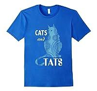 Tattoo Cats And Tats Tattoos Shirts Royal Blue