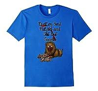 St On Your Failures Lion Success Hustle Work Grind Money Premium T-shirt Royal Blue