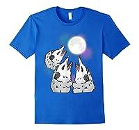 Three Opossum Moon S Shirts Royal Blue