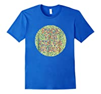 Fuck The Colorblind Shirts Royal Blue