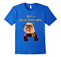 Brussels Griffon Dog Halloween Otter You're A Brussels Shirts Royal Blue