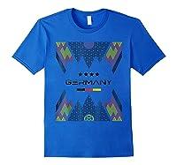 Germany National Team Football Germany Soccer Shirts Royal Blue