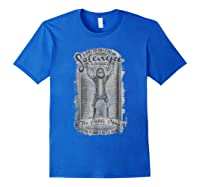 Mademark X Rick And Morty Rick And Morty Solenya The Pickle Man Graphic Shirts Royal Blue