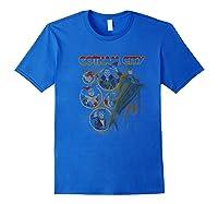 Dc Comics Gotham City Group Portrait Premium T-shirt Royal Blue