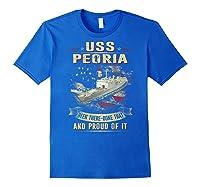 Peoria Lst 1183 Shirts Royal Blue