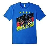 Germany Soccer Style Deutschland 1990 Shirts Royal Blue