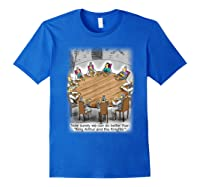 King Arthur & His Knights Of The Round Table, T-shirt Royal Blue