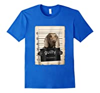 Weimaraners Dog Mug Sho Shirts Royal Blue