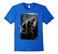 The Lord Of The Rings Gollum T-shirt Royal Blue