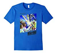 Star Wars The Empire Strikes Back The War Isn\\\'t Over Poster T-shirt Royal Blue