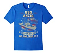 Anzio Cg 68 Shirts Royal Blue