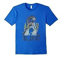Green Lantern Bling Bling Shirts Royal Blue