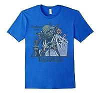 S Yoda Greetings From Dagobah Postcard Badge Shirts Royal Blue