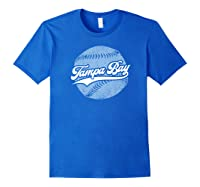 Tampa Bay Baseball Vintage Florida Ray Retro Gift Shirts Royal Blue