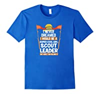 Proud Scout Leader Girls Edition Shirts Royal Blue