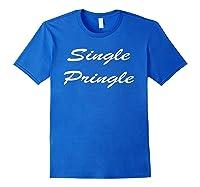 Single Pringle Shirts Royal Blue