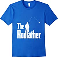 The Rodfather Is On The River This Christmas T-shirt Royal Blue
