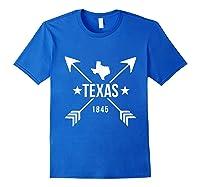 Texas 1845 Shirts Royal Blue