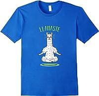 Da Ste - Namaste Yoga Meditation Hatha Xmas T-shirt Royal Blue