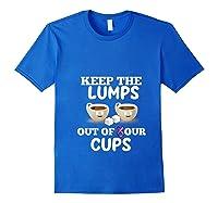 Breast Cancer Awareness Month Design For Cancer Survivors T Shirt Royal Blue