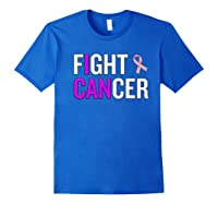 Breast Cancer Month Awareness Gift For Survivors Warriors Premium T Shirt Royal Blue
