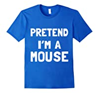 Mouse Halloween Costume Funny Gift Shirts Royal Blue