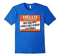 Halloween Inspired Design For Horror Lovers Shirts Royal Blue