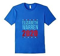 Elizabeth Warren For President 2020 Election S Day Tank Top Shirts Royal Blue