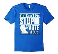 Sarcastic Impeach Resist President Vote Dems Anti Trump 2020 Premium T Shirt Royal Blue